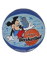 Disney DA1007 Mickey Rubber Basketball, Size 3 (Blue)