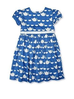 Rachel Riley Vestido Tea Cup (Azul / Blanco)