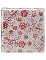 Origami 3 Ply Printed Party Napkins - 25 Napkins Per Pack - Pack of 4 - Total 100 Napkins - Assorted Design