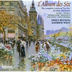 L'Album Des Six: Compl Works for Flute & Piano