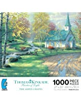 Thomas Kinkade Painter Of Light The Aspen Chapel Jigsaw Puzzle By Ceaco
