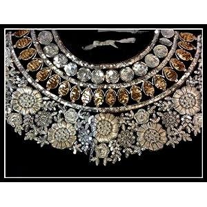 Zahara Hand Embroidered Blouse neck Design