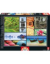 Colors Of Asia Educa 1000 Piece Puzzle