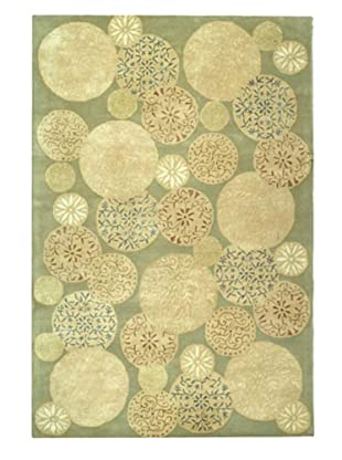 Martha Stewart Rugs Parasols Rug (Herbal Garden)