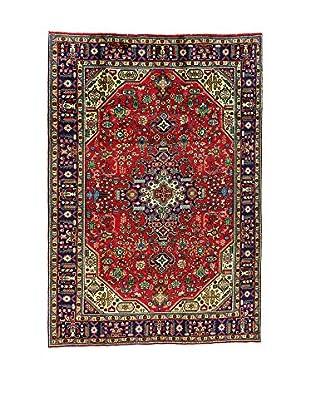 L'EDEN DEL TAPPETO Alfombra M.Tabriz Rojo/Multicolor 205 x 298 cm