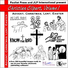 Christian Clipart: Advent, Christmas, Lent, Easter