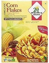 24 Mantra Organic Corn Flakes, 300g