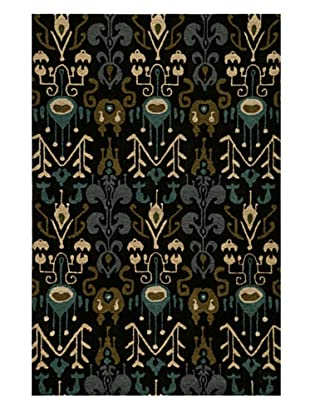 Momeni Habitat Collection Rug (Black)