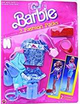 Barbie 2 Fashion Pack Scuba Diving And Walking (1989)