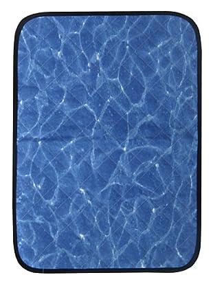 National Geographic Mantel invidividual Tierra Y Agua (Azul / Beige)