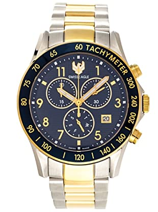 Swiss Eagle Reloj Field Talon azul / oro