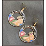 Cloisonne Earrings 01