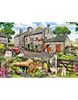 Gibsons 1000 Pieces Farmyard Friends Jigsaw Puzzle By Gibsons