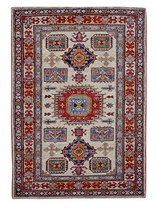 Kalaty One-of-a-Kind Kazak Rug, Ivory, 3' 3