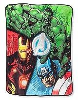 New 2015 Marvel Avengers Assemble Plush Throw