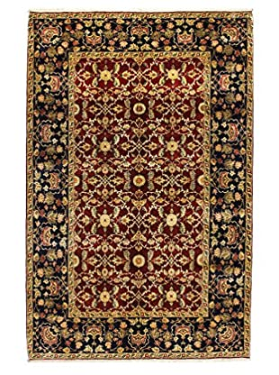 Bashian Rugs One-of-a-Kind Finely Hand Knotted Moghul Rug, Red, 6' 2
