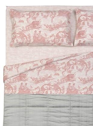 Cartoons Home Flanella Completo Letto Arezzo (rosa)