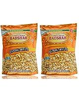 Badshah Sev Peanut Powder, 400g (Pack of 2)