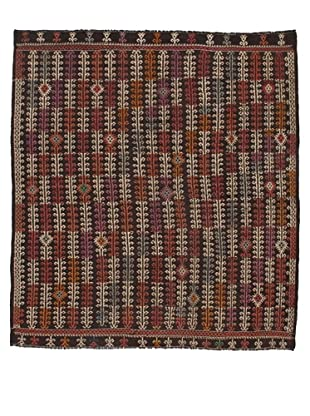 Rug Republic One Of A Kind Turkish Tribal Hand Woven Flat Weave Rug, Multi, 7' 7