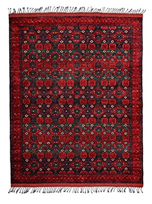 Darya Rugs Tribal One-of-a-Kind Rug, Red, 5' 1
