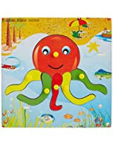 Skillofun Theme Puzzle Standard Octopus Knobs, Multi Color