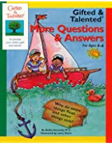 Gifted and Talented: Workbook: More Questions and Answers - For Ages 4-6 (Gifted & Talented)