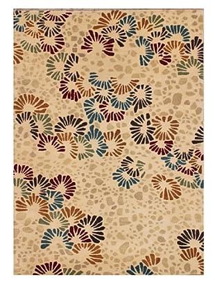 Mili Designs NYC Blooms Rug, 5' x 8'