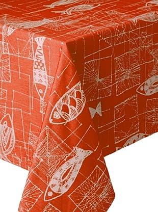 Garnier-Thiebaut Mille Mica Tablecloth (Vermillon)