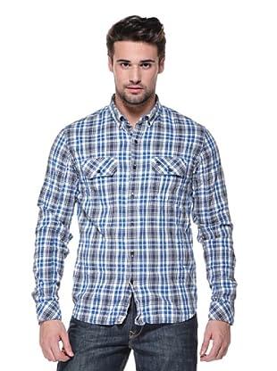 Timberland Camisa Thompson (Blanco/Azul)