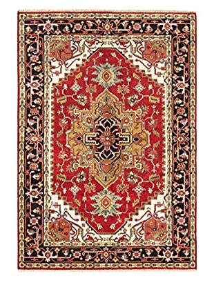 eCarpet Gallery One-of-a-Kind Hand-Knotted Serapi Heritage Rug, Red, 6' 2