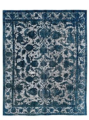Kalaty One-of-a-Kind Pak Vintage Rug, Gray/Blue, 7' 9