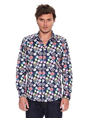 Desigual Camisa Caledoflor (Marino)