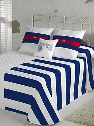 Beverly Hills Polo Club Colcha Bouti Fresno (Azul / Blanco / Rojo)