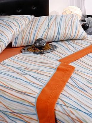 Mantas Mora Juego de sábanas TÉRMICA (Naranja)