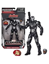 "Hasbro Year 2015 Marvel Legends Infinite Series Build A Figure ""Hulkbuster"" Series 6 Inch Tall Action Figure Marvels War Machine With Alternative Head (Colonel James Rhodes) Plus Hulkbusters Head"