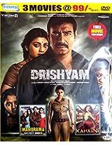 Drishyam / Kahaani / Manorama Six Feet Under (3 in 1 DVD)