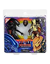 Alien Vs. Predator 7 Inch Action Figure 2 Pack With Mini Comic