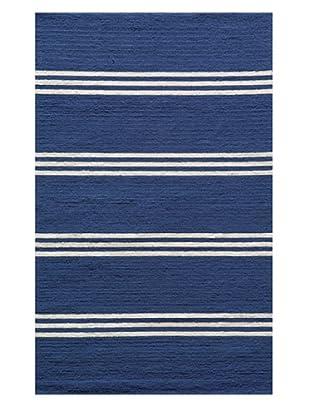 Momeni Veranda Collection Color Rug (Maritime Blue)