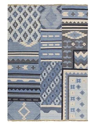 Ankara Kilim Casual Kilim, Light Blue, 5' 3