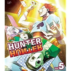 HUNTER �~ HUNTER �n���^�[�n���^�[Vol.5 [Blu-ray]