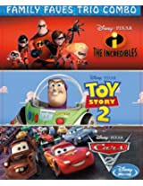 Family Faves Trio Combo - The Incredibles/Toy Story 2/Cars 2