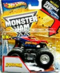 Hot Wheels Monster Jam Spider-Man With Crushable Car