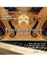 Pièces pour deux violons et piano