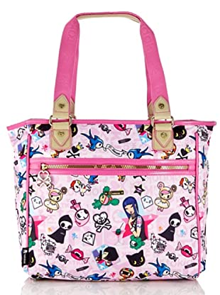Tokidoki Shopping Bag Mondrian (Rosa)