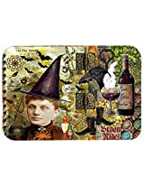 Caroline's Treasures PJC1069CMT Broom Rides and Spells Halloween Kitchen or Bath Mat, 20 by 30 , Multicolor