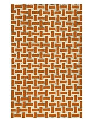Rug Republic Hand Woven Rug (Orange)