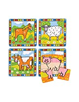 Bigjigs Toys BJ382 My First Farm Puzzles