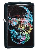Zippo Skull Lighter [Black Matte]