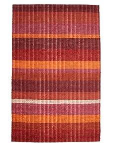 Classic Home Braided Stripe Sunrise Rug (Multi/Stripe)