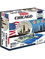 4 D City Scape Inc Chicago Time Puzzle
